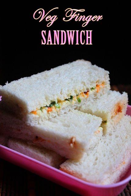 YUMMY TUMMY: Veg Finger Sandwich Recipe - Veg Tea Sandwich Recipe