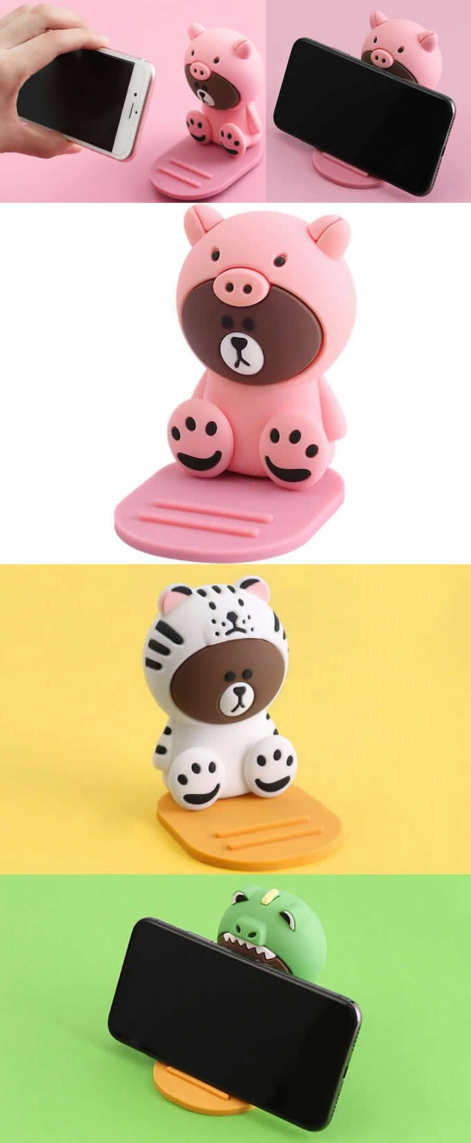 A Animal Shape Iphone Cell Iphone Stand Mount Holder Business Card Display Stand Holder Business Card Displays Cel Phone Phone Holder