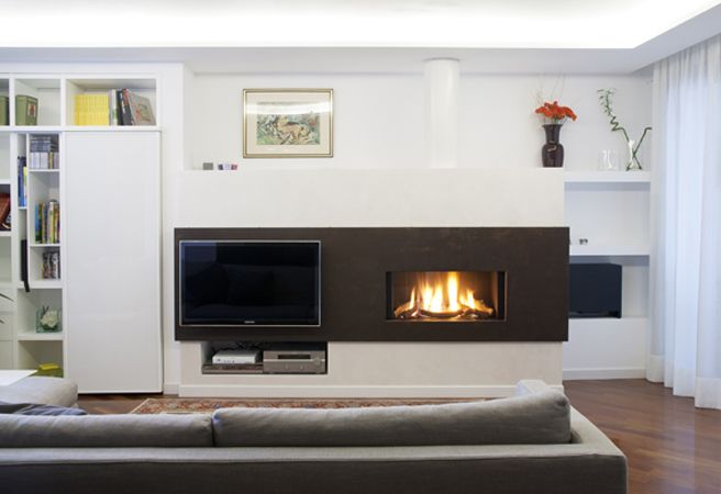How to install a fireplace and a TV set together | yourFire