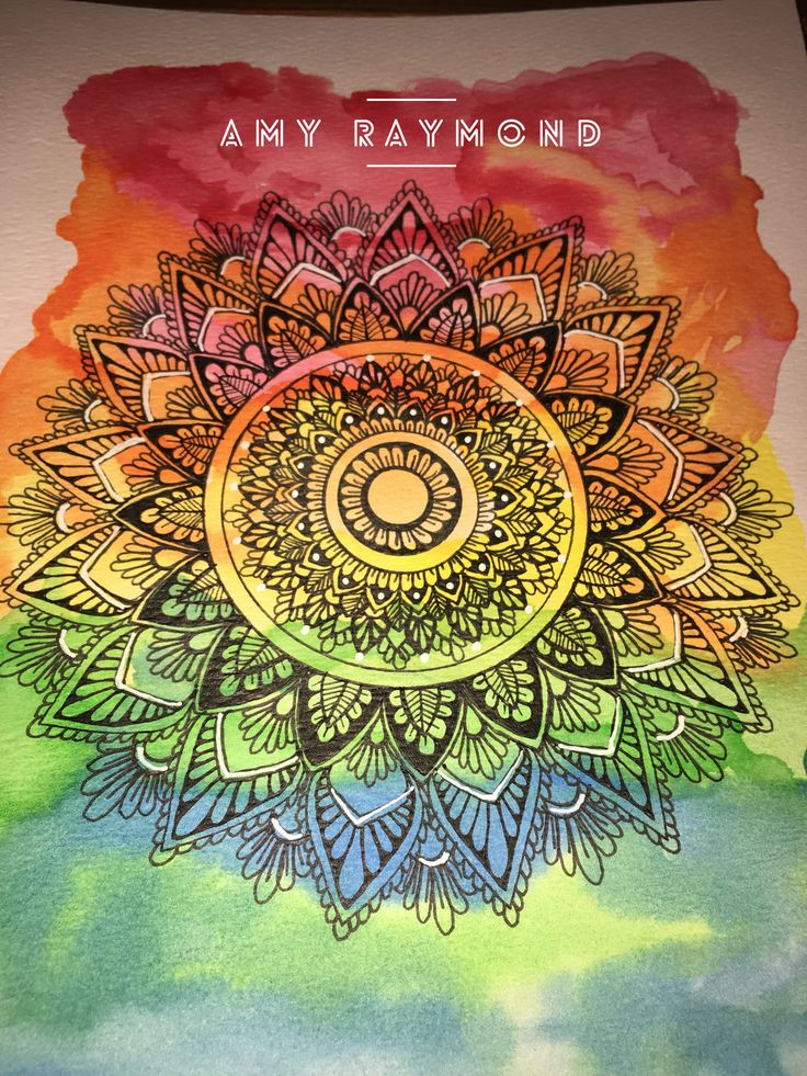 #mandala  By Amy Raymond 4/1/17