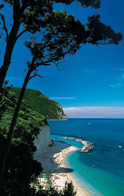Riviera del Conero by Turismo.Marche, via Flickr province of Ancona , Marche region Italy
