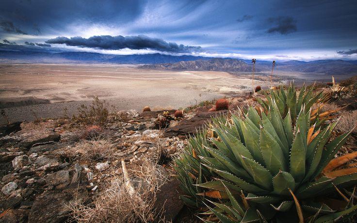 anza-borrego, пустыня, южная калифорния