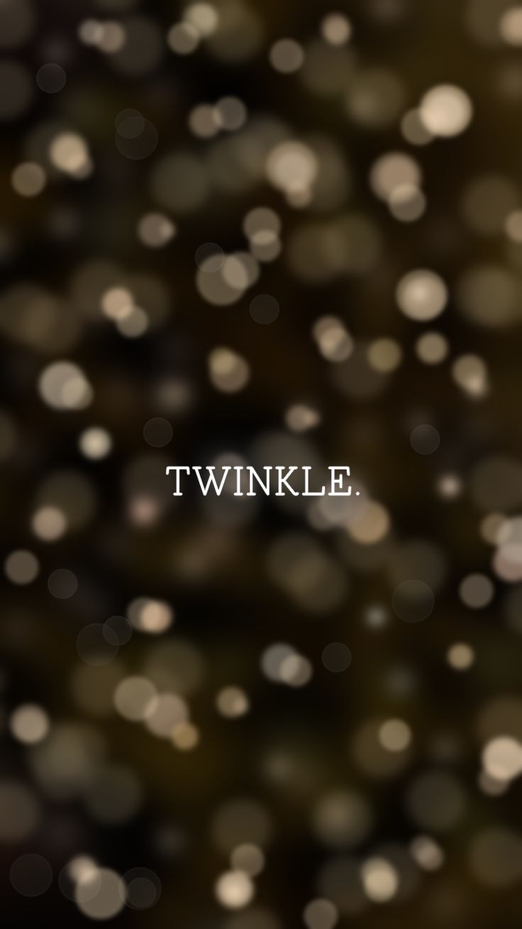 Twinkle | free holiday themed iPhone wallpapers