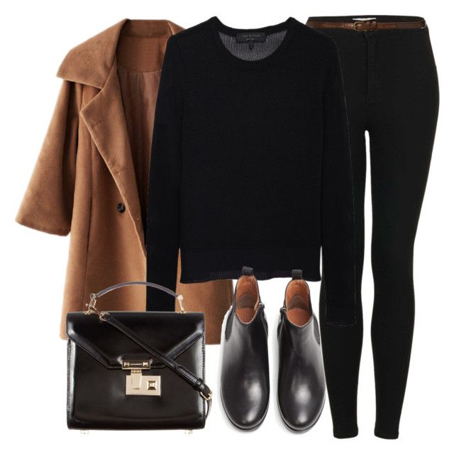 Untitled #4165 by laurenmboot on Polyvore featuring polyvore, fashion, style, rag & bone, Topshop, MANGO, Rebecca Minkoff and Abercrombie & Fitch