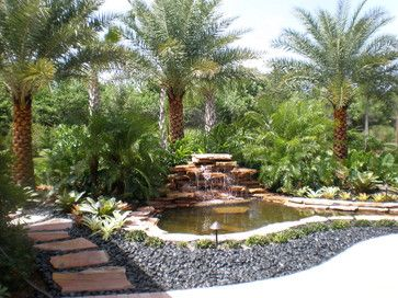 tropical landscaping ideas | Tropical Landscape Designs