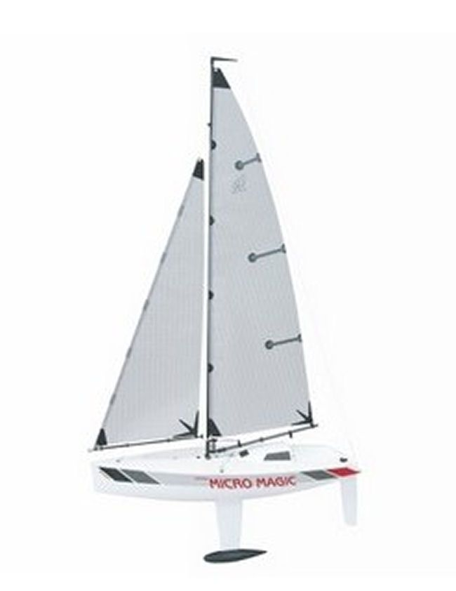 Graupner Racing Micro Magic Yacht Kit - available from Hobbies, the UK's favourite online hobby store!