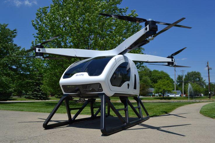 """SureFly es """"la reinvención del helicóptero convencional"""" y apunta a convertirse en el taxi aéreo definitivo http://ift.tt/2rad3Fp"""