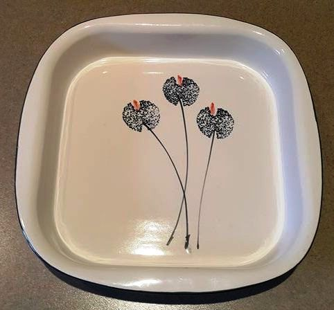 Wild Poppies Baking Dish