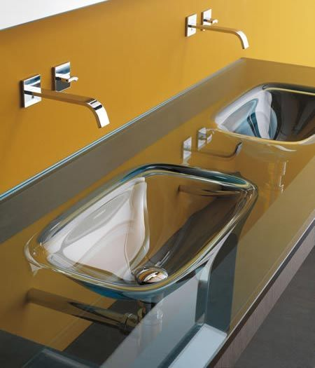 Bathroom Sink Yellow 84 best stylish sinks images on pinterest | bathroom ideas, room