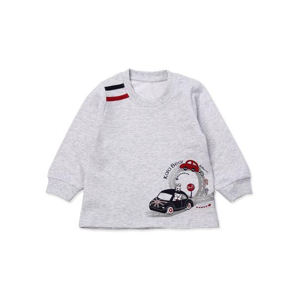 Детские футболки из Китая :: Кара медведь Детская одежда младенца мальчика t-2015 осенью Новой Англии моды Детская футболка 63153.