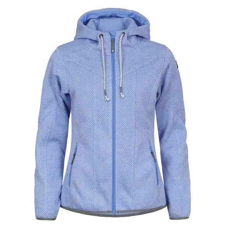 Icepeak Lida fleece vest dames licht blauw De Wit Schijndel