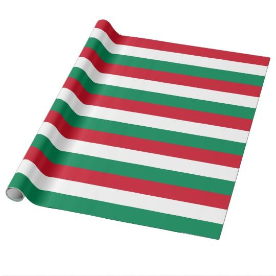 Wrapping paper with Flag of Hungary