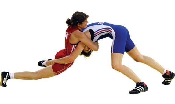 Wrestling. Lucha olímpica femenina.