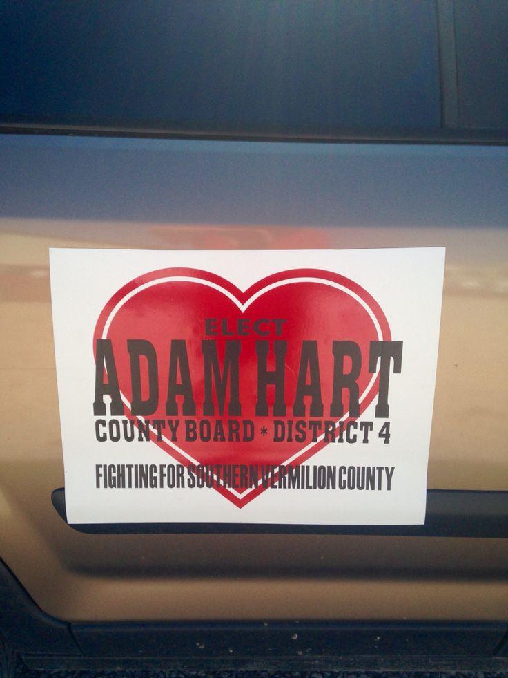 County board magnet Adam Hart County Board