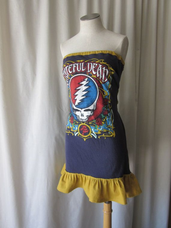 Grateful Dead Bear Roses & Steal Your Face by illusionclothing, $50.00
