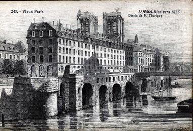 HÔPITAL DE L'HÔTEL-DIEU - Sous les toits de Paris