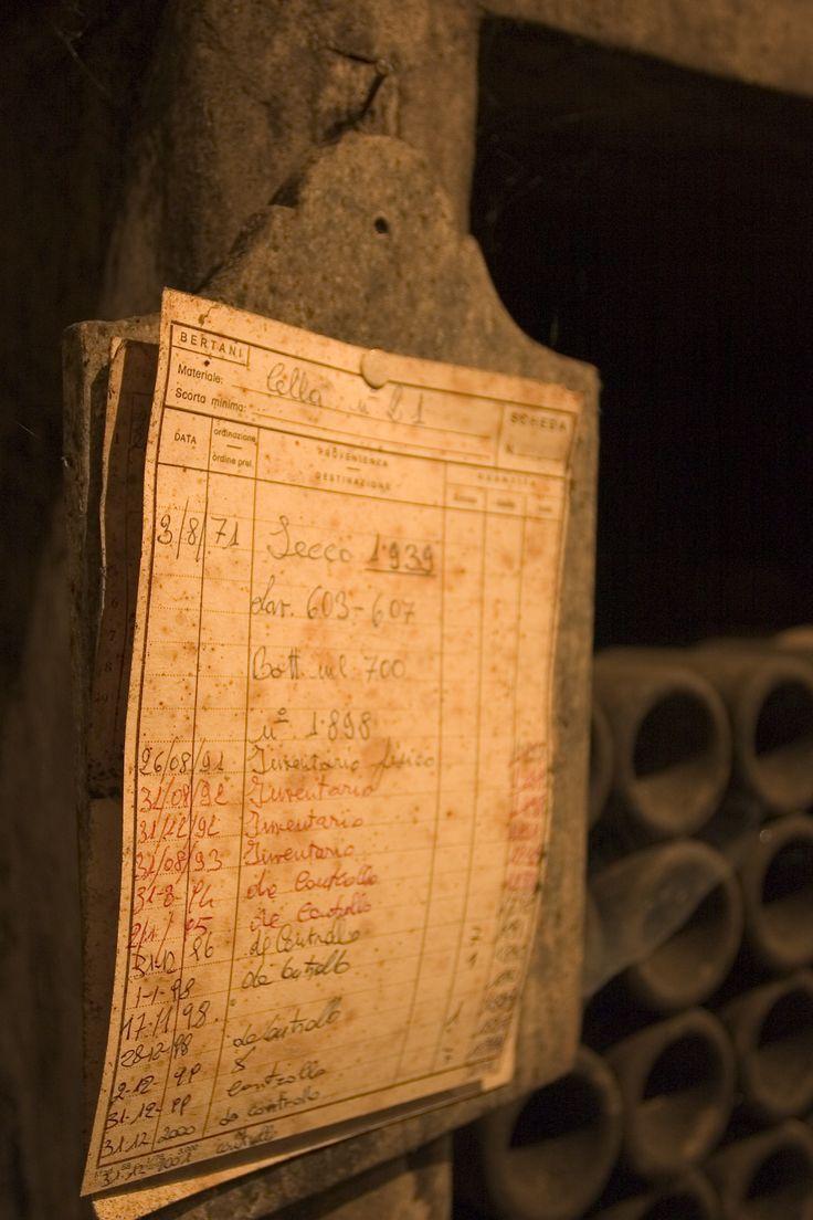 Cantina storica Bertani: l'inventario