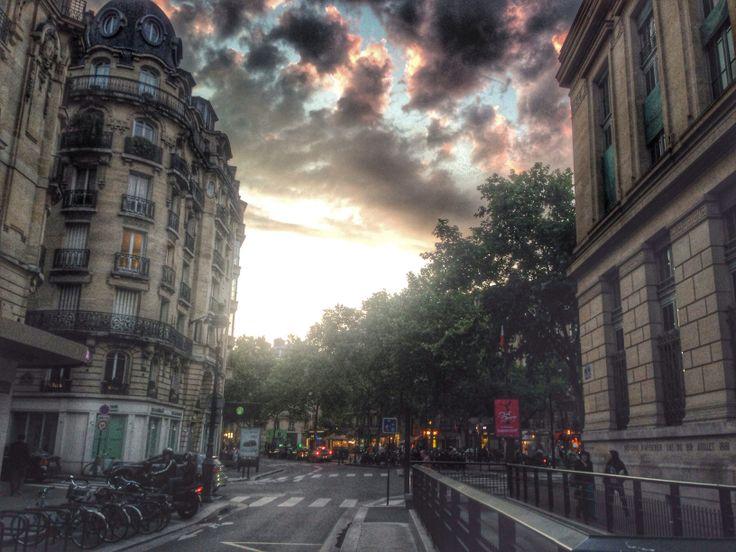 At Odeon, Paris