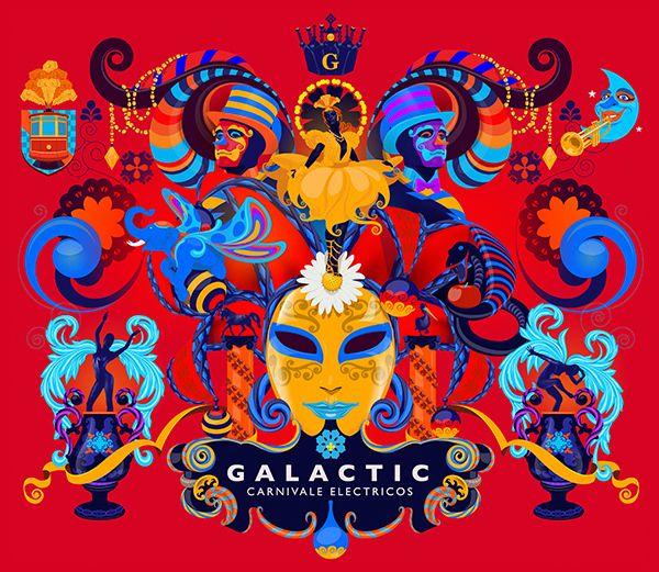 Galactic Carnavales Eletricos by Adhemas Batista, via Behance