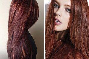 coloration cheveux acajou