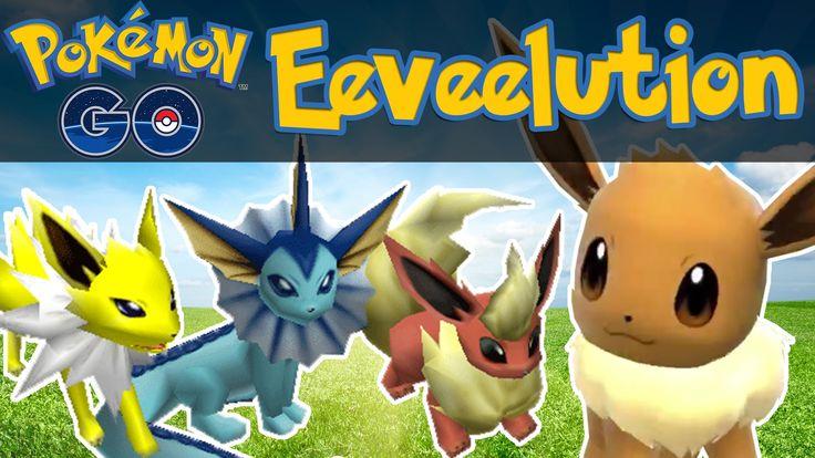 Pokemon GO - How To Evolve Eevee! [Pokemon GO iOS/Android Tips & Tricks]
