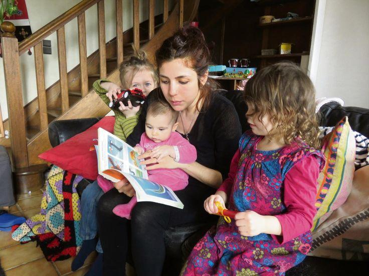 Camille Masset-Stiegler a opté pour un apprentissage informel. Ses enfants apprennent dans toutes les situations de la vie