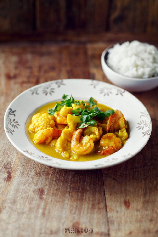 Curry z kalafiorem - Przepis