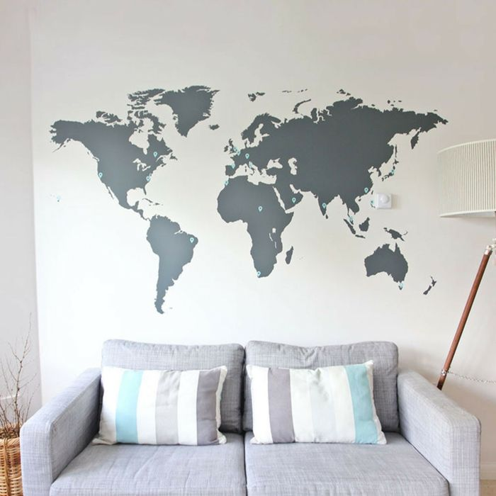 die besten 25 vinyl wandsticker ideen auf pinterest. Black Bedroom Furniture Sets. Home Design Ideas