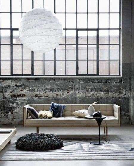 Arredo stile industriale - Salotto industrial design