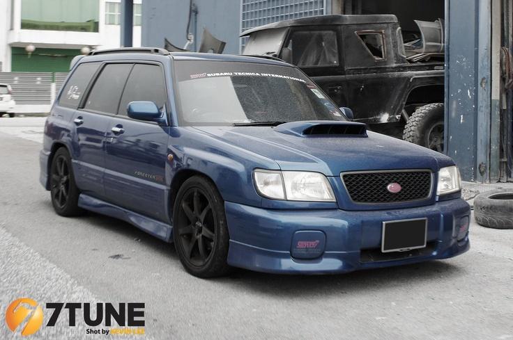 Bloody Lovely ... Subaru Forrester STI (via @7Tune )