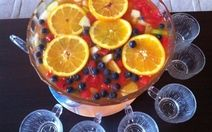 Summer Fruit Punch - Non-alcoholic Recipe