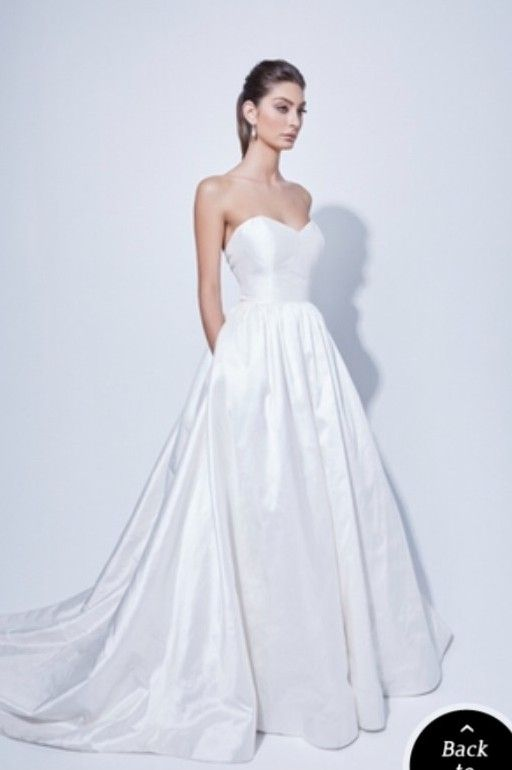Elegant Amaline Vitale Wedding Dress on Sale Off still white wedding dresses