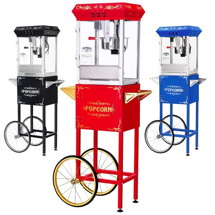 LA vraie machine à pop corn
