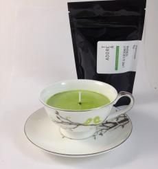 Teacup Candle. Lime & Coconut Infused.139  I am hand made with 100% SOY wax. My cup has been recycled / re-used / re-loved / re-newed / TEA-incarnated as a beautiful tea cup candle infused just for you. Included with me is a 50g bag of Tea
