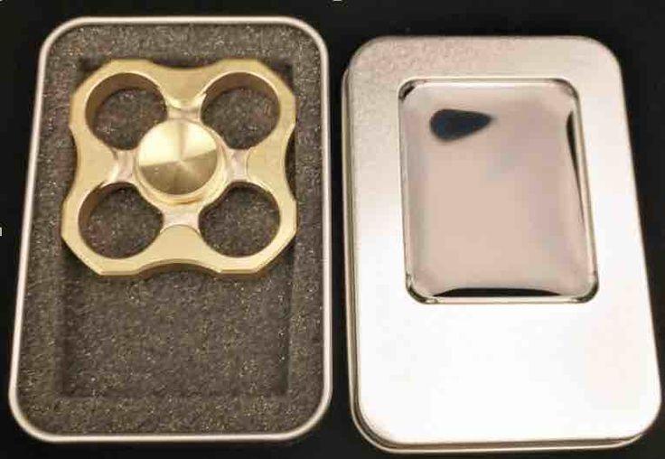 3 Дизайн Нового Прибытия Ручной Счетчик Четырьмя лопастями Непоседа Spinner Латунь Материал Torqbar Латунь T140 купить на AliExpress