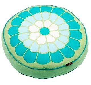 Ravenna Round Cushion Sage - product image