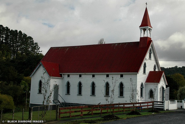 Catholic Church of Saint Peter and Paul at Historic Puhoi, Northland, New Zealand