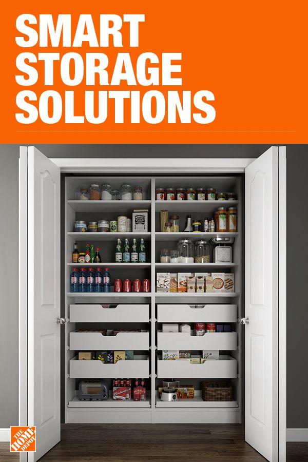 Pin By The Home Depot On Kitchen Remodel Pantry Design Kitchen Storage Organization Kitchen Storage