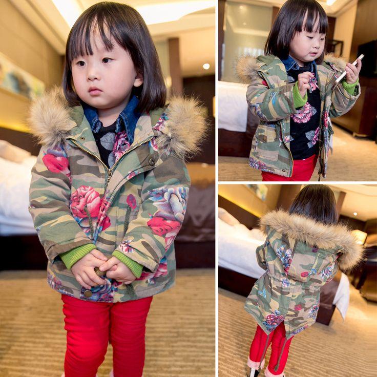 Купить товар2015 зима куртка младенца одежда для новорожденных детей куртка девушки пальто и куртки BCG 5745 в категории Зимняя одеждана AliExpress.              Детские месяц Детские длина                    4-6 м 70-80 см                    7-