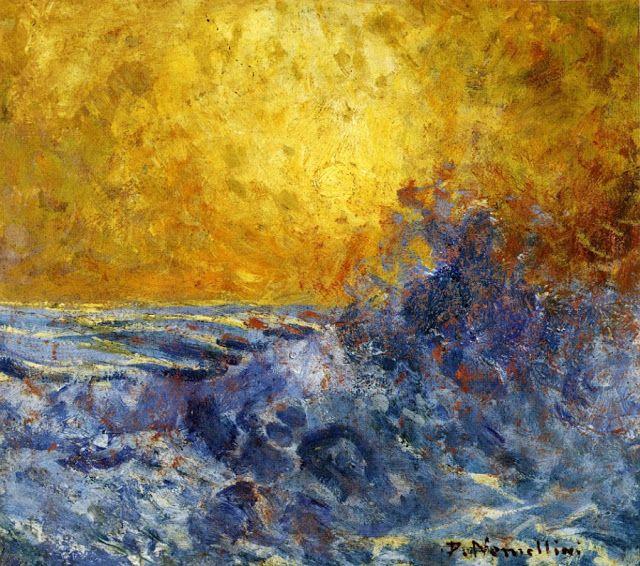 Plinio Nomellini (1866-1943), La Mer.