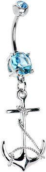 #Body Candy               #ring                     #Aqua #Cubic #Zirconia #Anchor #Belly #Ring #Body #Candy #Body #Jewelry       Aqua Cubic Zirconia Anchor Belly Ring | Body Candy Body Jewelry                                         http://www.seapai.com/product.aspx?PID=1193901