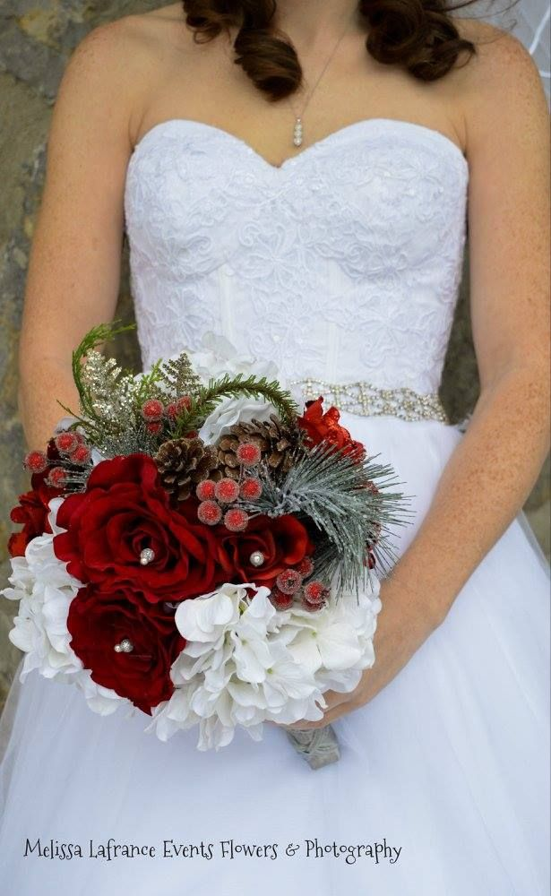 Winter Inspired Bridal Bouquet