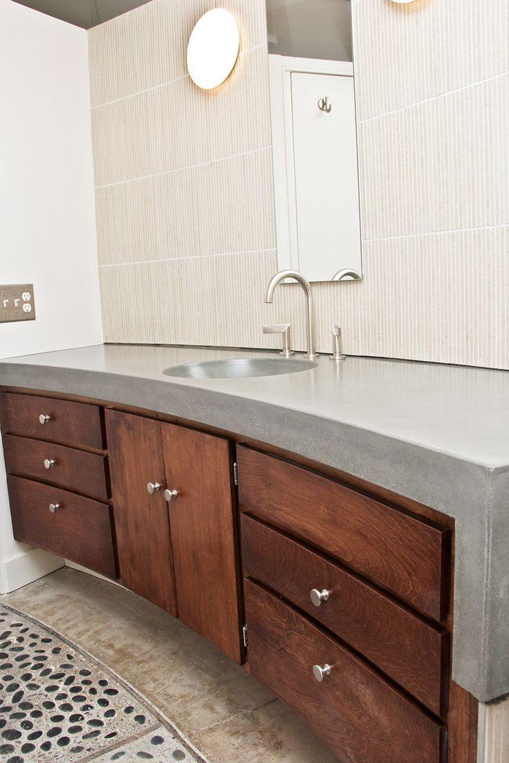 3421bd bathroom vanity ideas - Concrete Wave Design Specializes In Making Custom Concrete Baths Bathrooms To Suite Your Taste