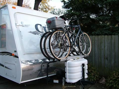 Tongue Mounted Bike Rack Tear Drops Pinterest Nice