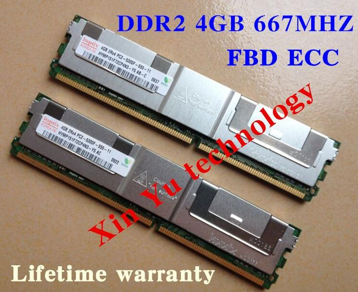 $5.94 (Buy here: https://alitems.com/g/1e8d114494ebda23ff8b16525dc3e8/?i=5&ulp=https%3A%2F%2Fwww.aliexpress.com%2Fitem%2FFor-Hynix-4GB-8GB-2GB-DDR2-667MHz-PC2-5300-2Rx4-FBD-ECC-Server-memory-FB-DIMM%2F32502350247.html ) For Hynix 4GB 8GB 2GB DDR2 667MHz PC2-5300 2Rx4 FBD ECC Server memory FB-DIMM RAM Lifetime warranty for just $5.94