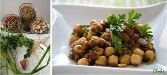 Ffagioli e ceci in insalata + rucola, tonno, pomodori e feta  - Attenzione: i fagioli devono cuocere almeno un'ora e un quarto, se non un'ora e mezza