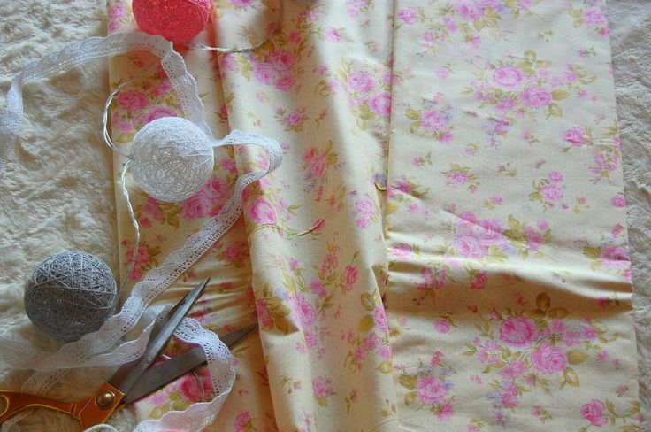 Tkanina bawełniana różyczki Tilda Fabric cute roses Tilda doll