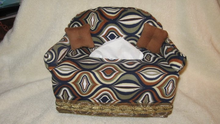 Couch Tissue Box Cover Pattern By Simplicity 2928 You