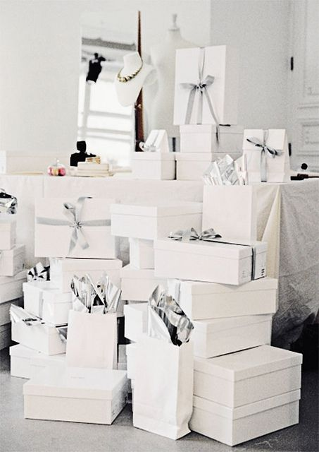 gift wrapped: