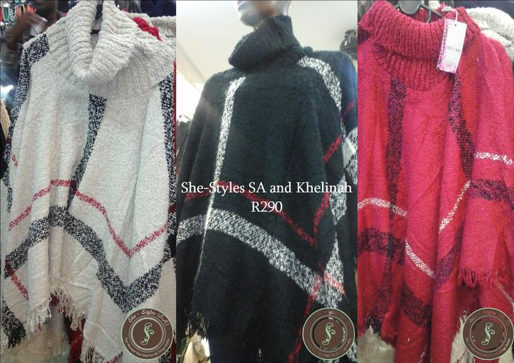 Large Winter Poncho. By She-Styles and Khelinah. MsB for She-Styles. South African Fashion